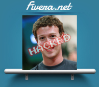 After being ignored, Hacker posted on Mark Zuckerberg's Wall.