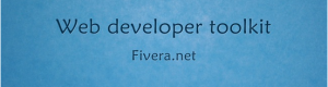 Web Developer toolkit – Online tools one click away.