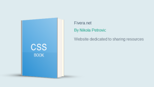 CSS Book made using 3D Transform – Editable example