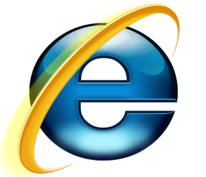 IE logo made with CSS only – Editable example