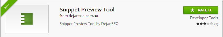 Snippet Preview Tools