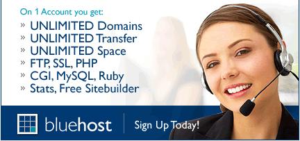 blue host signup