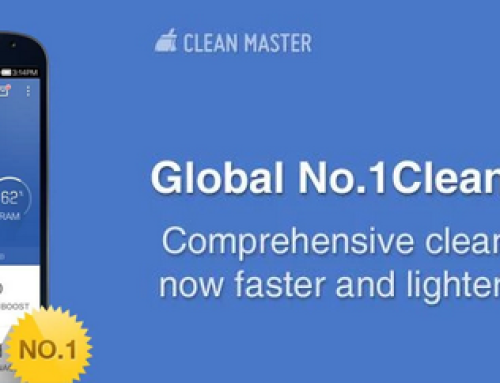 Clean junk files with ease – Clean Master Free Android App