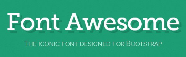 Font Awesome - free icon font