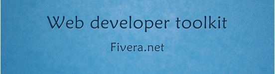 Web Developer toolkit - Online tools