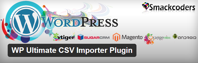 WP Ultimate CSV Importer Plugin