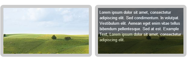 Image Rollover ​Text Effect  – CSS Example