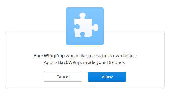 dropbox authorize